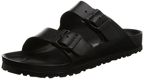 Birkenstock Unisex Arizona Essentials EVA Black Sandals - 38 N