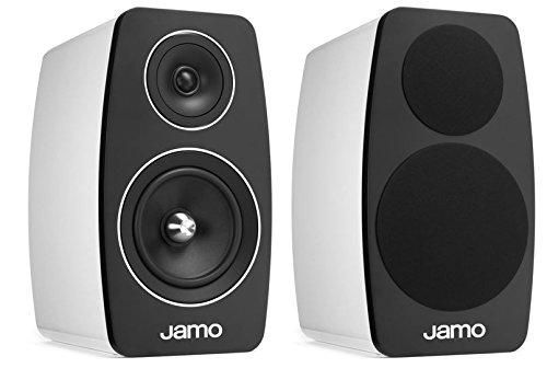 Jamo C- 103 Regal-Lautsprecher, Farbe: hochglanz weiß, Paar