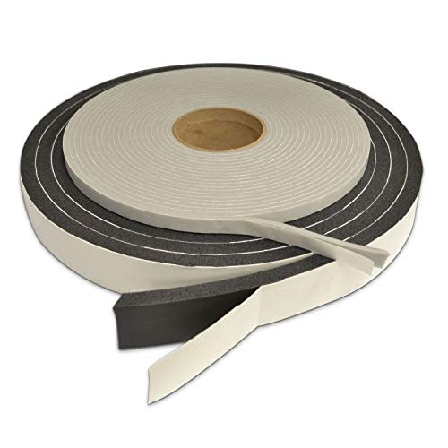 Audimute Soundproofing Acoustic Door Seal Kit - Door Sweep and Seal - (Large Size)