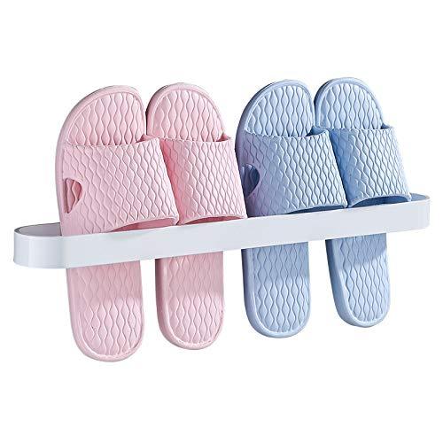 Toalleros De Barra Acero inoxidable titular de baño toalla Estante colgante montado en la pared Toalla Bares zapatos zapatero de almacenamiento organizador de la cocina Toallero (Color : Black 30cm)
