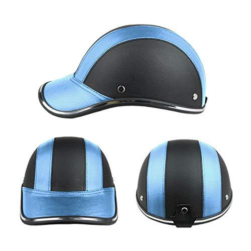 FROFILE Bike Helmet Adults-Cycling-Bicycle Baseball-Helmet - (Blue) Adjustable Camping Safe Mountain Bike Helmet for Men Women Teen