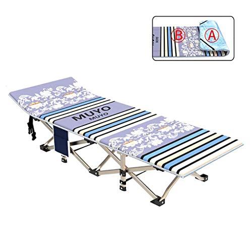 CCAN Schommelstoel, Lounge Opklapbed Camping Camping Opklapbaar Campingbed met matras voor volwassenen onder 100 kg - Winter- en zomerloungestoel Interesting life