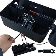 Roshield 1 x External Rat Snap Trap Control Box - Green No Poison Professional Solution