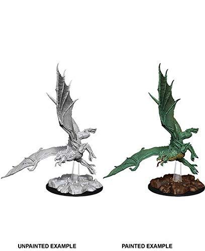 D&D WZK73684 Nolzur's Marvelous Wave 8 - Unpainted Miniatures - Young Green Dragon