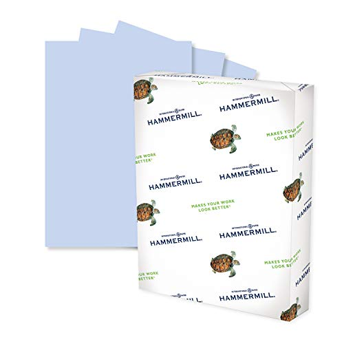 Hammermill Colored Paper, 24 lb Orchid Printer Paper, 8.5 x 11-1 Ream (500 Sheets) - Made in the USA, Pastel Paper, 103780R