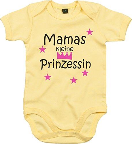 WarmherzIch WarmherzIch Baby Body Mamas kleine Prinzessin Strampler liebevoll bedruckt Königin Chef ein und Alles Queen