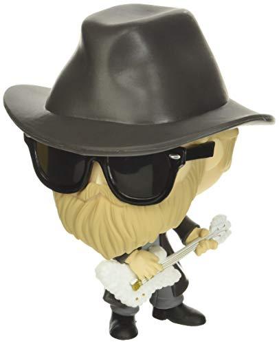 Funko 41186 POP! Rocks: ZZ Top- Dusty Hill