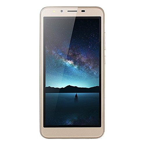 Teléfono celular desbloqueado, 5.5 pulgadas, ultrafino, Android 6.0 Octa-Core 512 MB + 4 GB GSM 3G WiFi…
