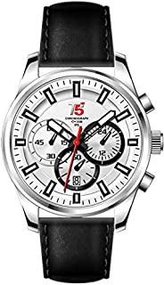 T5 Watch For Men [Leather,Chronograph]-H3378G-B