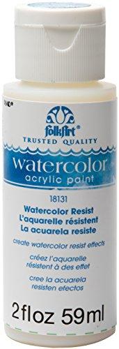 FolkArt Acrylic Paint, 2 oz, Watercolor Resist