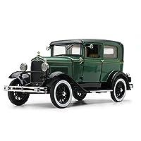 サンスター 1/18 フォード モデルA Tudor 1931 Balsamグリーン/Vagabondグリーン