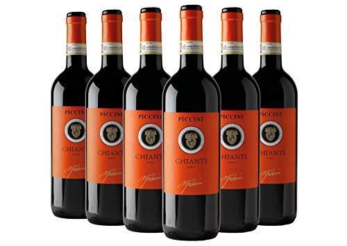Chianti DOCG Orange box 6 bottiglie Tenute Piccini 2020 6 bottiglie da 0,75 ℓ
