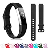 ZEROFIRE Compatible with Fitbit Alta and Alta HR Band, Soft Replacement Classic Accessories Sport Bands Compatible for Fitbit Alta HR/Fitbit Ace, Small Large