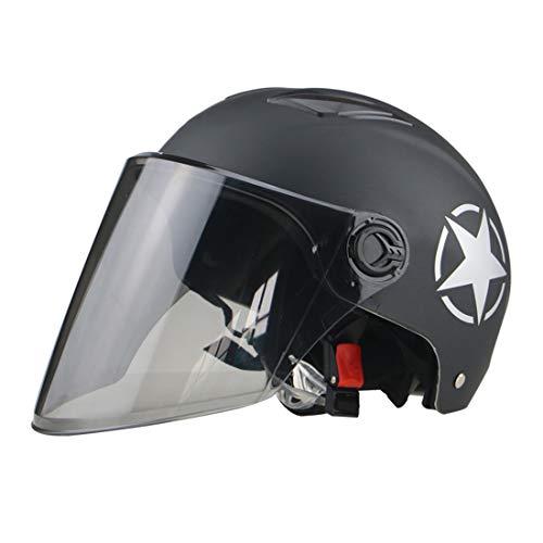 WCTK veiligheidshelm, sportstadbrede scooterfiets, stootvast en ademend, met voorruit