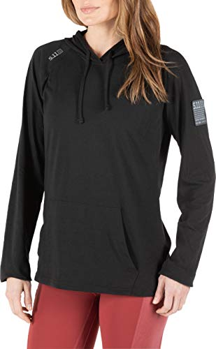 5.11 Tactical Series Cruiser Hoodie Femme, Black, FR : L (Taille Fabricant : L)