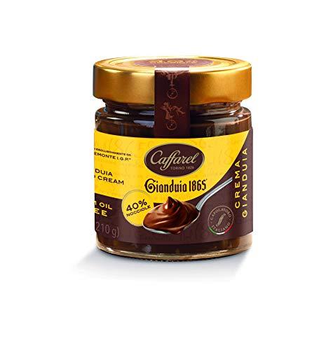 Caffarel Premium Gianduja 40 Prozent Nuss-Nougat-Crème, 1er Pack (1 x 210 g)