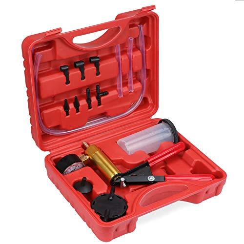 TsunNee Brake Bleed Kit, Hand Held Vacuum Pump Tester, Brake Fluid Bleeder...