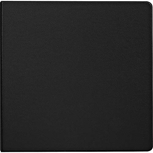 Staples 976168 4-Inch Staples Standard Binder with D-Rings Black
