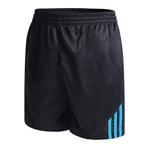 Yying Unisex Femme Short Homme Sport Jogging Court Pantalons Séchage Rapide Sportswear Respirant Basketball Fitness Casual Football Gymnastique Running Shorts Bleu XL