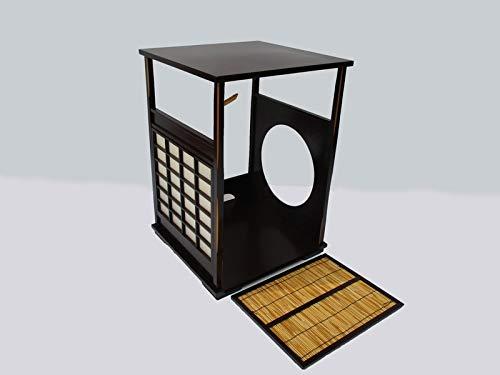 茶道具 吉野棚 組立式 夏冬 天然木 紙箱入り アンティーク 骨董品