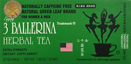3 Ballerina Tea - Dieters Tea - 18 bags by 3 Ballerina [Foods]