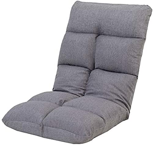MDBLYJ Lazy Sofa Faltbare Computer Rückenlehne Stuhlboden Sofa Bay Fenstersessel, (Farbe   A)