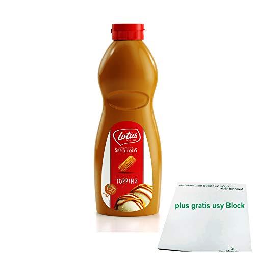 Lotus Topping Speculoos 1kg Flasche (Spekulatius Topping) + gratis usy Block