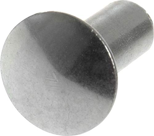 1//4 Height.187 Shank Diameter.437 Shank Length Squeezer DIE for Round Head Rivets with A .250 Head Diameter