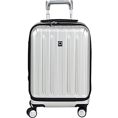 "Delsey Helium Titanium 19"" International Carry-On Expandable Spinner Luggage"