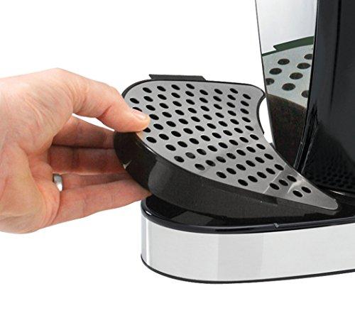 Breville HotCup Hot Water Dispenser, 3 KW Fast Boil, 1.5 Litre, Gloss Black [VKJ142]