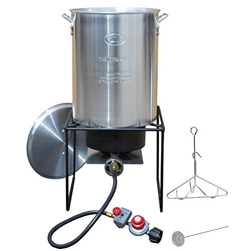King Kooker #12RTF Turkey Fryer Propane Outdoor Cooker Pkg