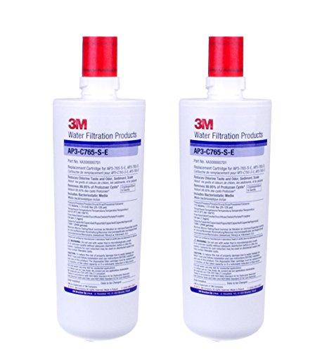 3M AP3-C765S-E Waterfilter met schaalverdeling, 2 stuks
