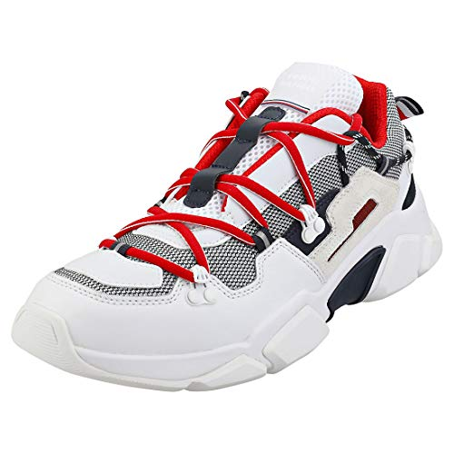Tommy Hilfiger City Voyager Chunky Hombres Blanco Zapatillas