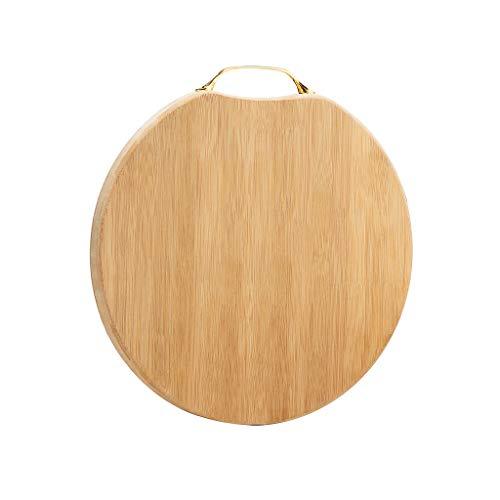 Tabla de Cortar Tabla de cortar antideslizante y corte antiadherente ecológico Junta de bambú Tabla de cortar for carne, verduras, frutas y queso Tablas de Cortar Cocina (Size : M)