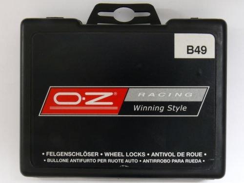 OZ B16 OZ Radsicherungsbolzen 12x1,5x35 Kegelbolzen Schlüsselweite 17