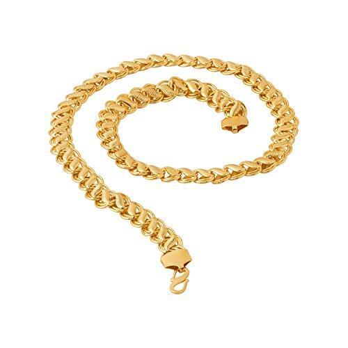 Voylla Men's Chain in Gold Plating