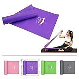 Amazon Brand - Umi - Bandas Elásticas Banda de Resistencia de Fitness Yoga Pilates, para rehabilitación y Terapia Física para Hombres y Mujeres Bandas Ejercicio (Lila, 2M)