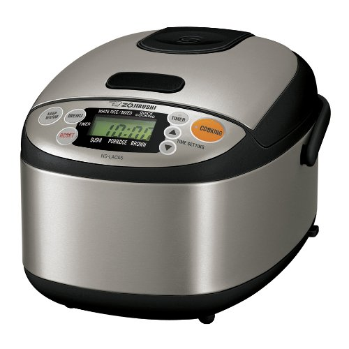 Zojirushi NS-LAC05XT Micom Rice Cooker...