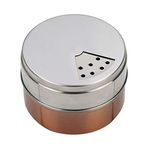 DOITOOL - Magnetisk kryddburkar i rostfritt stål utomhus camping kryddbehållare kryddbehållare ()