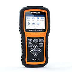 【ENGINE/ABS/SRS SCANNER】 Foxwell NT630 Plus obd2 scanner will performs full detection on vehicles three mainly ECU's systems (ABS/ SRS/ Engine). Active test allows you to active or control ABS/Airbag/SRS system and component, including switches, sens...