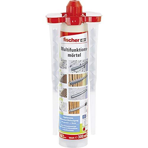 fischer 502493 Multifunktionsmörtel 300 T K, Inhalt: 1 Kartusche FIS VS (300 ml), 2 x Statikmischer