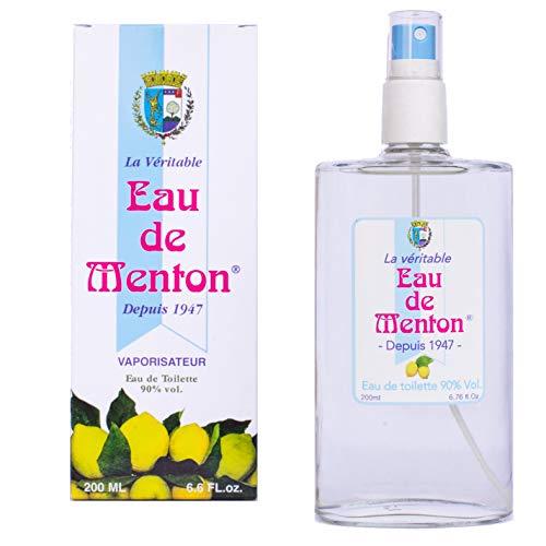 La véritable Eau de Menton - Eau de toilette au citron (200ml)