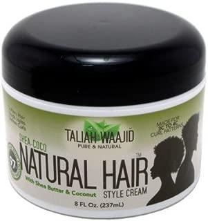 Taliah Waajid Natural Hair Style Cream 8oz Jar (Shea-Coco) (2 Pack)