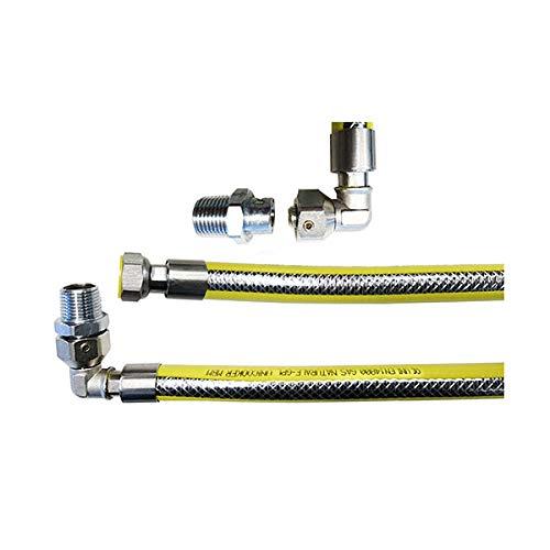 cocina de gas flexible tubo L 1000 mm 1/2