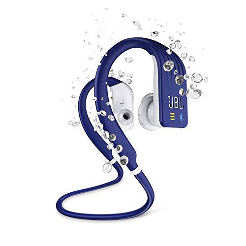 Fone de ouvido in ear bluetooth esportivo Azul JBLENDURDIVEBLU