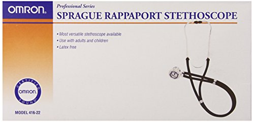 Omron Sprague Rappaport Stethoscope, Black
