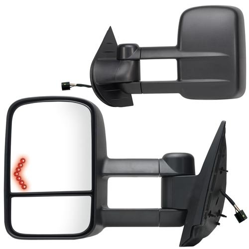 08 gmc towing mirrors - 6