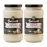 Alfredo Premium Italian Pasta Sauce by Botticelli, 14.5oz Jars (Pack...