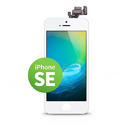 GIGA Fixxoo iPhone SE Display in A+ Qualität | Austausch-Display iPhone SE mit voller Farbechtheit und Perfekter Passform | iPhone Screen in überragender Qualität | iPhone Display Retina LCD