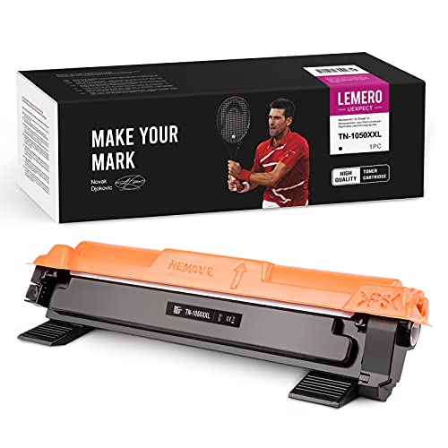 LEMERO UEXPECT TN-1050XL - Tóner compatible con Brother TN1050XL para Brother DCP-1612W 1510 1610W 1512 HL-1110 1212W 1112 210W MFC-1910W 1810 (negro)